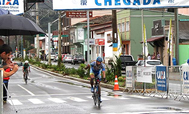 Matias Médici conquistou a terceira etapa em Urubici - Foto de Antonio Prado/Fesporte