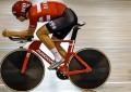 A bike da seleção dinamarquesa de pista para os Jogos Rio 2016