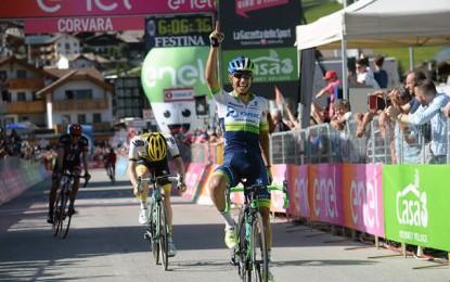 Giro: Chaves vence etapa rainha; Kruijswijk é o novo maglia rosa