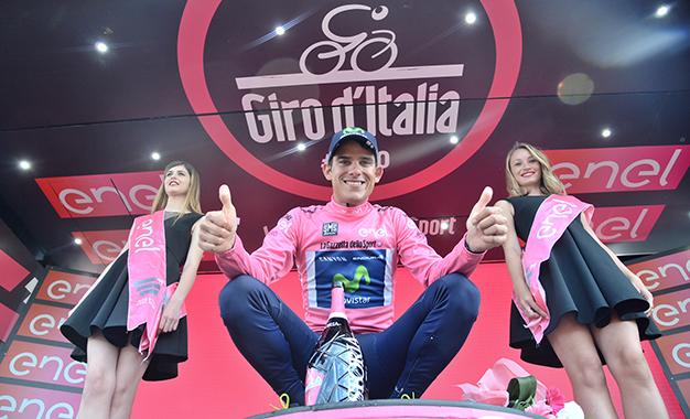 Andrey Amador, da Costa Rica, é o novo maglia rosa
