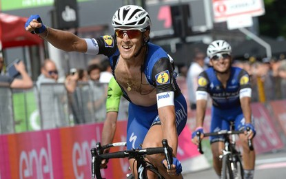 Giro: Trentin vence a etapa mais longa com ataque surpresa