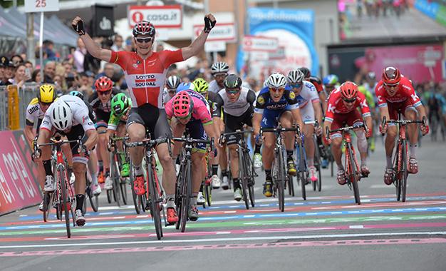 Greipel na vitória da 7ª etapa do Giro D'Itália