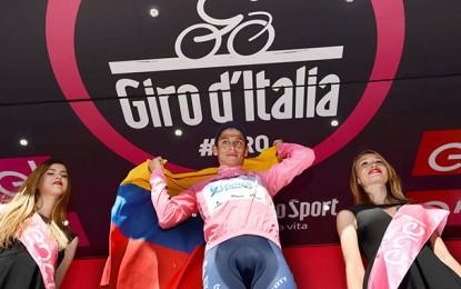 Chaves, o novo maglia rosa: Tive que ser louco e seguir Nibali