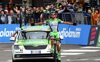 Giro D'Itália: novato Giulio Ciccone tem vitória solo na 10ª etapa