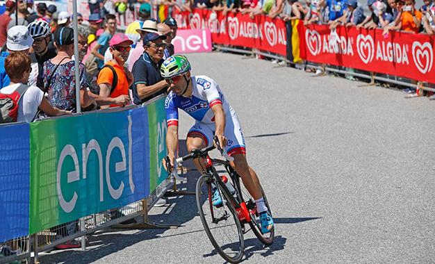 Murilo Fischer no Giro D'Itália 2016