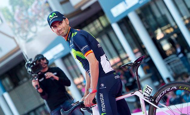 Alejandro Valverde estreia no Giro D'Itália Foto:RCS