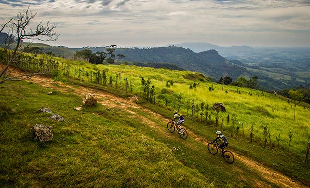 Pelos cenários do Festival Brasil Ride Foto: Fabio Piva