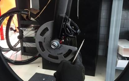 Protótipo traz solução segura para freios a disco em bike de estrada