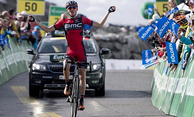 Tejay van Garderen na vitória do Tour da Suíça
