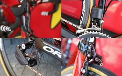 Grupo eletrônico FSA é visto mais uma vez no Tour de France