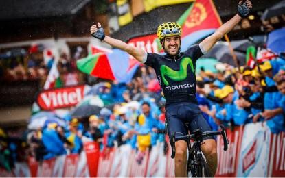 Tour de France: Ion Izaguirre ataca na descida e fatura a penúltima etapa