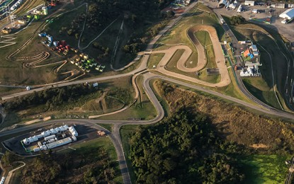 Rio 2016: novas imagens aéreas das pistas do MTB e do BMX