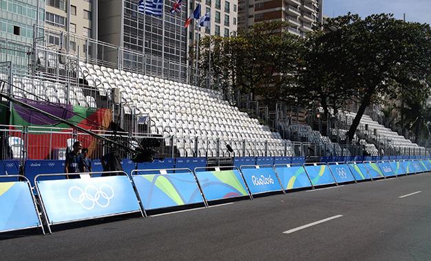 Rio 2016: faltou bom senso na largada do ciclismo e arquibancada fica vazia