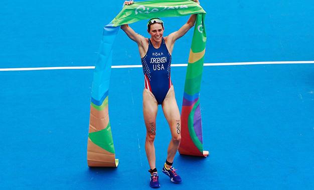 Gwen Jorgensen vence prova na Praia de Copacabana