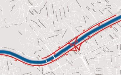 São Paulo ganha prova de ciclismo na Marginal Pinheiros