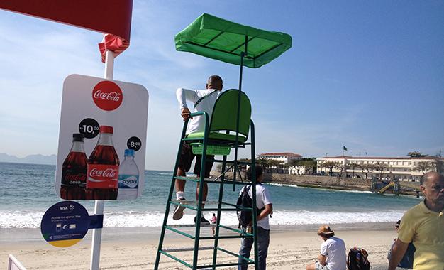 Coca-Cola a R$ 10,00 na largada do ciclismo
