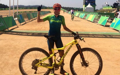 Rio 2016: a estreia da goiana Raiza Goulão no MTB olímpico