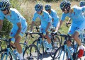 Acompanhe os números durante um treino da Astana