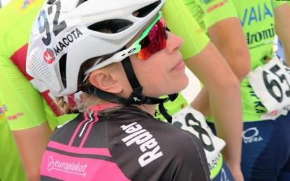 Flávia Oliveira é vice na classificação geral do Giro da Toscana