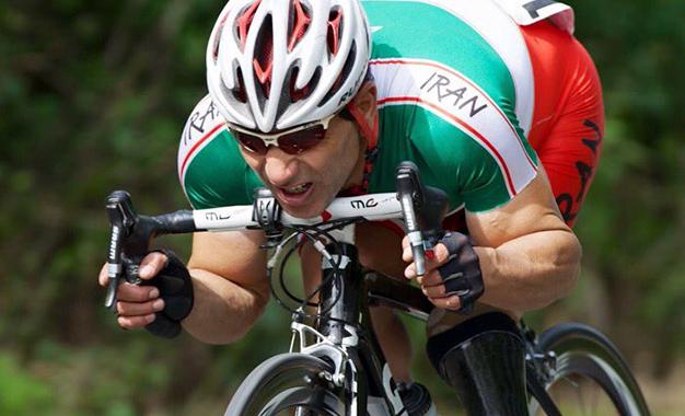 O iraniano Bahman Golbarnezhad morreu após queda na prova de ciclismo dos Paralímpicos Rio 2016