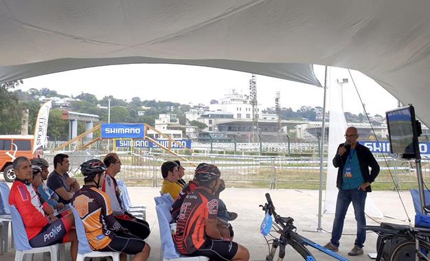 Marcos Adami fala sobre jornalismo e o Bikemagazine Foto: Fernando Siqueira / FS Fotografia