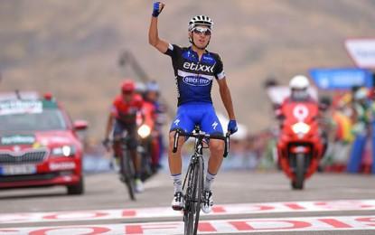 Vuelta: Brambilla vence, Quintana abre tempo e Froome sobra
