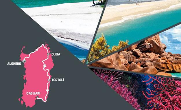 A Sardenha vai receber a abertura do Giro 2017