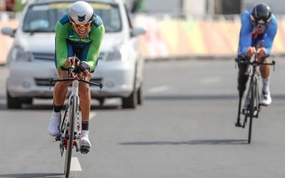 Paralímpicos: Lauro Chaman conquista o bronze no contrarrelógio