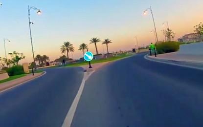 Doha: o percurso do Mundial de Ciclismo visto de dentro