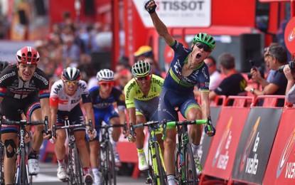 Volta a Espanha: dinamarquês vence 18ª etapa; Nairo segura vantagem