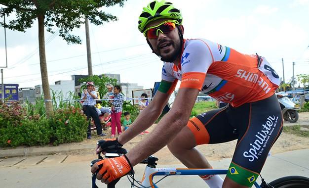 Tour de Hainan: Murilo Affonso é o mais combativo; Andriato cai para vice