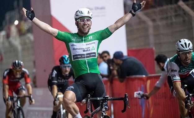Cavendish vence etapa final do Abu Dhabi Tour; Kangert é o campeão