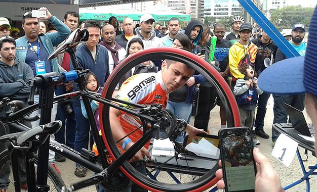 Marcos Thiago Bustamante no Desafio de mecânica