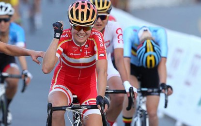 Amalie Dideriksen supera favoritas e garante o título mundial