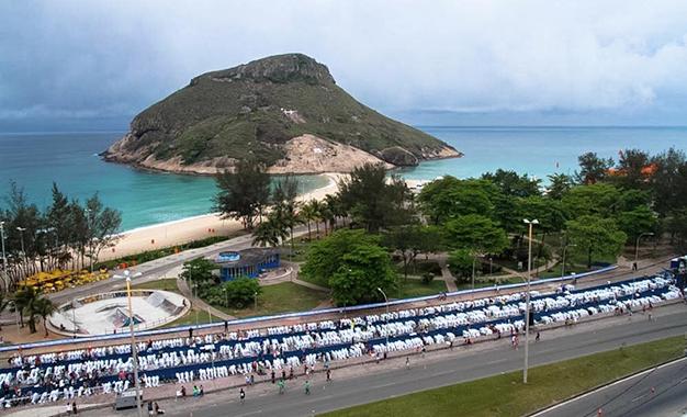 Praia da Macumba, no Recreio dos Bandeirantes, recebe Ironman 70.3