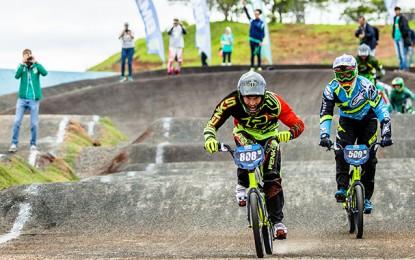 Ariel João e Priscilla Stevaux são os campeões brasileiros de BMX