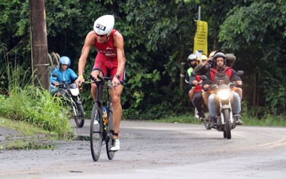 Reinaldo Colucci e Luisa Baptista vencem Ironman 70.3 Rio de Janeiro