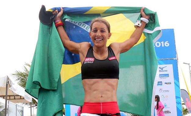 Luisa Baptista foi a mais rápida entre as mulheres da Elite