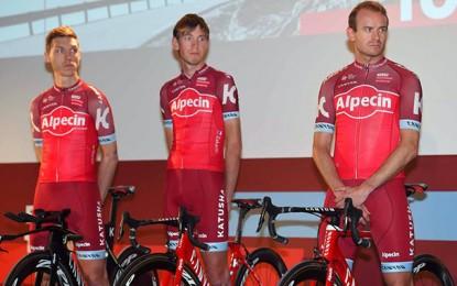 Tony Martin, Zakarin e Kristoff vão liderar a Katusha-Alpecin