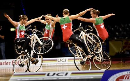 Ciclismo, dança e arte no Mundial de Ciclismo Indoor