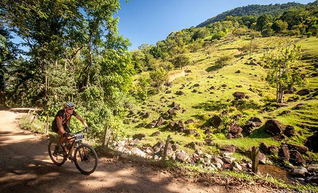 Mais sombra para aliviar o calor no 5º Desafio dos Rochas, em Santa Catarina