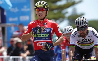 Tour Down Under: Caleb Ewan vence Sagan no sprint da 3ª etapa