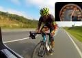 Evandro Portela pedala a 160 km/h e busca recorde mundial acima de 200 km/h
