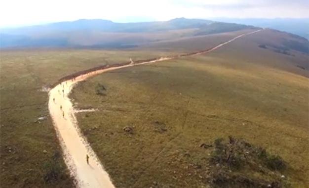 Pelo percurso da Maratona Internacional da Estrada Real