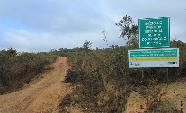 No Parque Estadual da Serra do Papagaio localizado na Serra da Mantiqueira