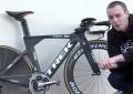 Detalhes da Trek Speed Concept Time Trial de Alberto Contador