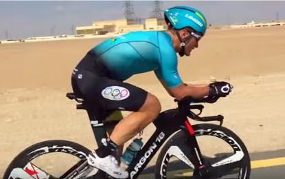 Confira a performance de Vinokourov no Ironman 70.3 em Dubai
