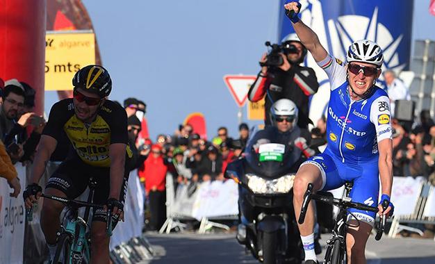 Daniel Martin na vitória da 2ª etapa da Volta ao Algarve