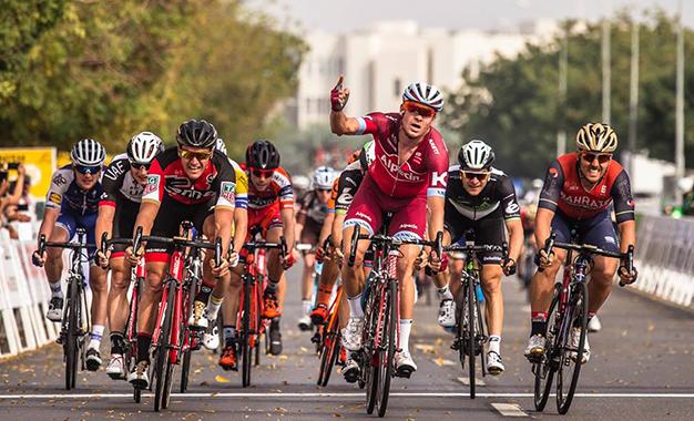 Kristoff vence a 4ª etapa do Tour de Omã
