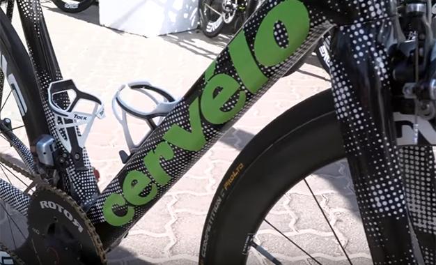 Veja detalhes das novas bikes do pelotão em Dubai